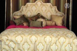 Кровать за $175 000 показали в Нью-Йорке