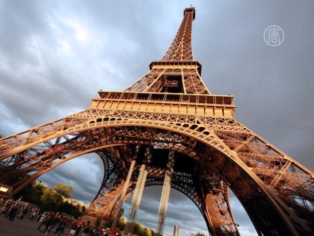 Эйфелеву башню закрыли на забастовку