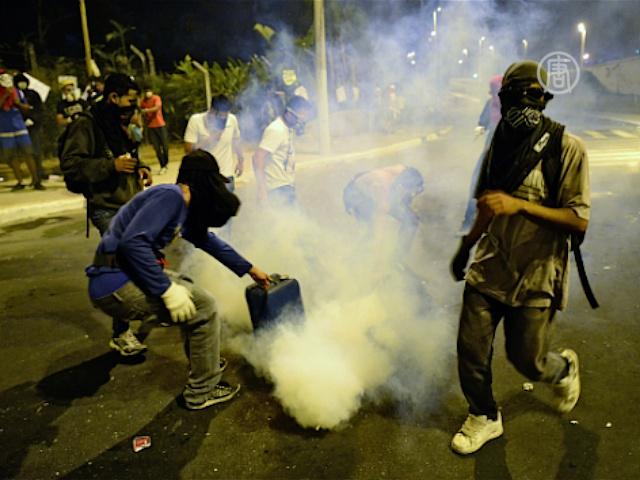 Протесты в Бразилии становятся нормой