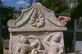 Полиция Италии изъяла артефакты древних этрусков