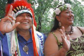 Вождь индейского племени посетил Украину