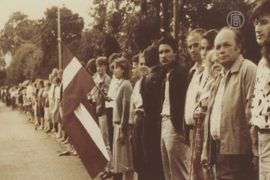 «Поющую революцию» вспомнили в Европарламенте