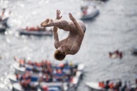 Чемпионат по прыжкам со скал на Азорских островах