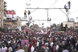 Египтяне не уходят от президентского дворца
