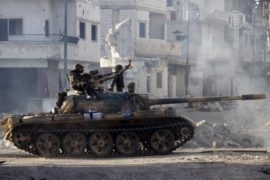 Бои за Хомс продолжаются