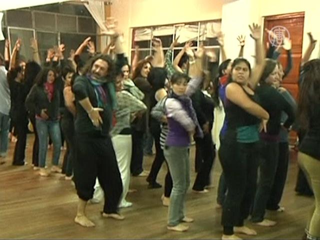 Фламенко-терапия для боливийских заключенных