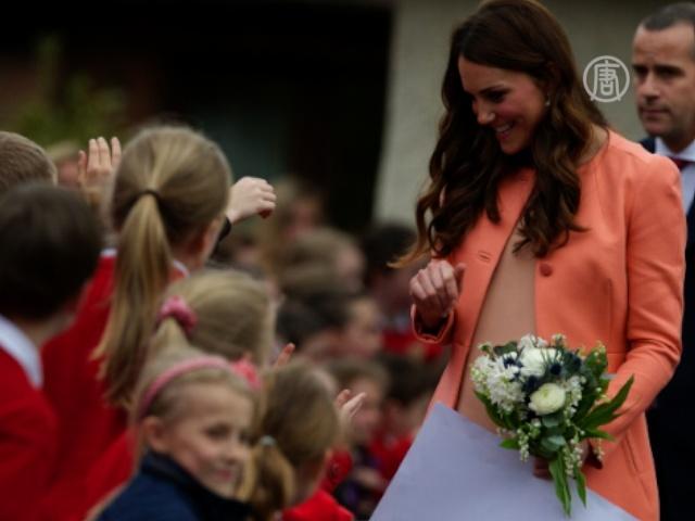 Герцогиня Кейт – образец моды для беременных