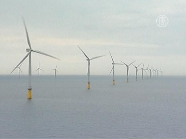 Крупнейший оффшорный ветряной парк открыт в Англии