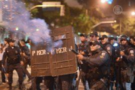 Бразилию вновь охватили протесты
