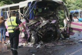 На Волыни столкнулись автобусы: 8 погибших