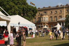 В Букингемском дворце проходит ярмарка