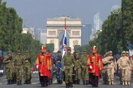 День взятия Бастилии: парад и фейерверк