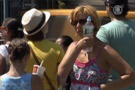 Север США страдает от жары