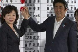 Японцы – о результатах выборов в парламент