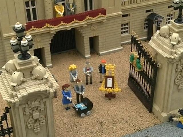 Британского наследника изобразили в лего