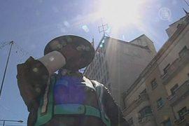 Шляпы спасут боливийских «гаишников»