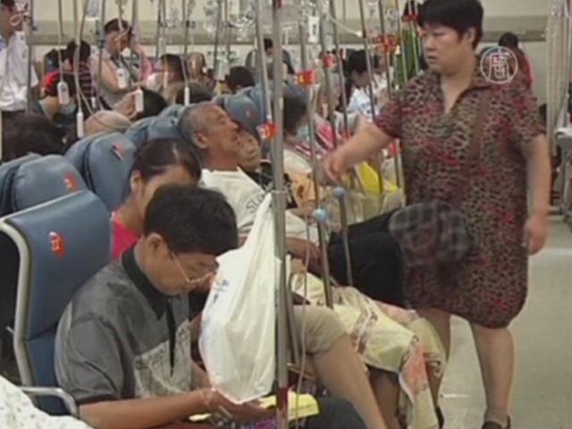 В Шанхае продолжают гибнуть от солнца