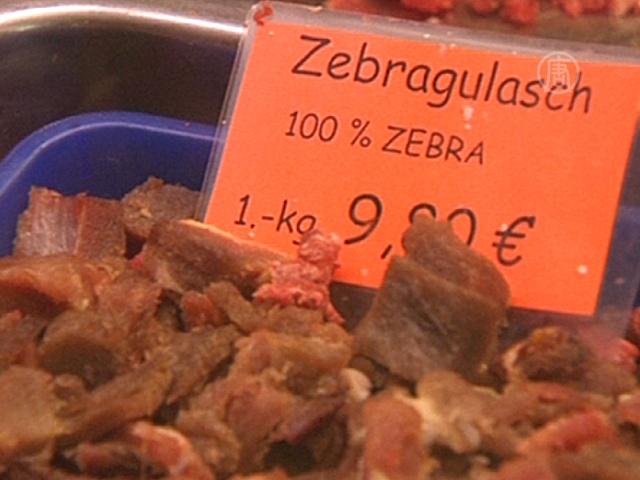 Мясо зебр и кенгуру предлагают собакам