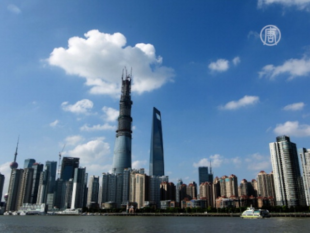 Остов высочайшего здания Китая готов