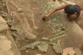 В Перу нашли останки жриц и детей