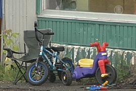 В Канаде питон задушил двоих детей