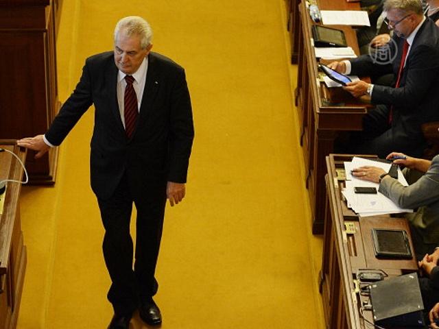 Чехии грозят досрочные выборы