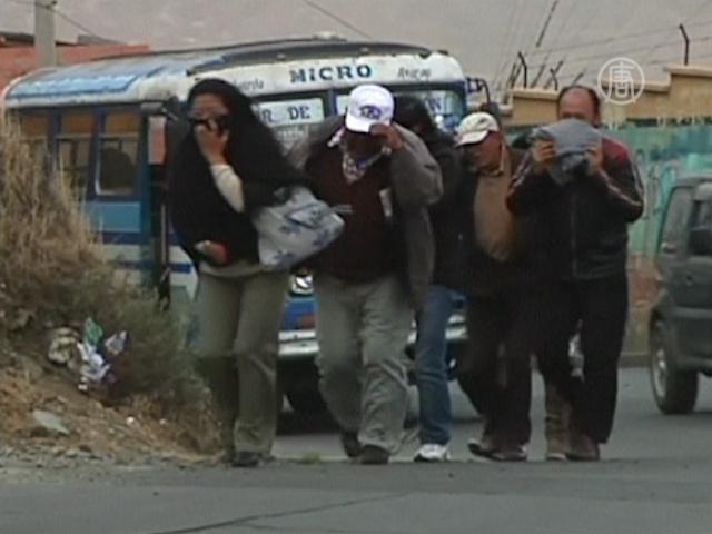 На Боливию обрушился аномально сильный ветер