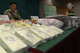 В Гонконге задержали россиянку с 12 кг кокаина