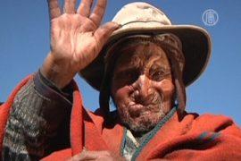 Высоко в Андах живет дедушка возрастом 123 года