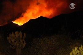 Пожар охватил испанскую Мальорку