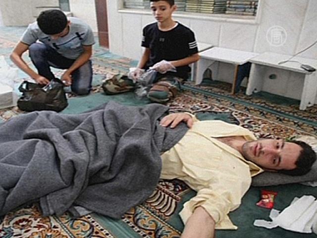 Оппозиция Сирии: жертв газа от 500 до 1300