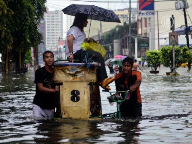 Филиппинцы приходят в себя после наводнения
