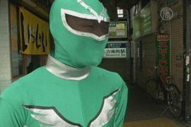 «Зелёный супергерой» помогает носить тяжести