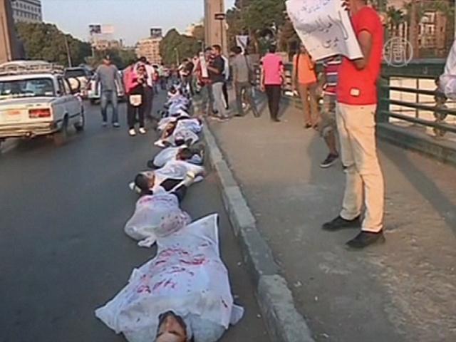 В Египте протестовали против освобождения Мубарака