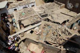 В Александрии рухнул 7-этажный дом