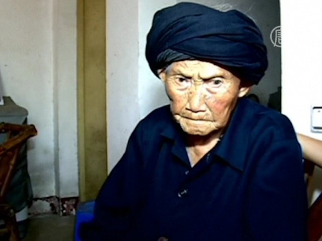 В Китае живёт 116-летняя женщина