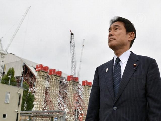 В Чернобыль приехал японский министр