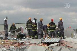 В Сан-Паулу рухнуло здание, 6 погибших