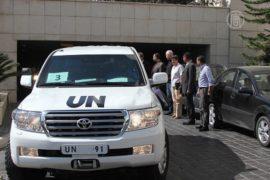 Удар Запада по Сирии сдерживают эксперты ООН