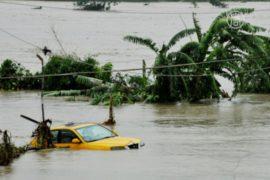 На Тайвань обрушился тропический циклон