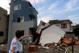 Торнадо обрушился на пригород Токио