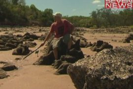 Турист провёл две недели в заложниках у крокодила