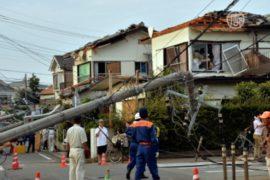 Второй торнадо пронёсся по пригороду Токио