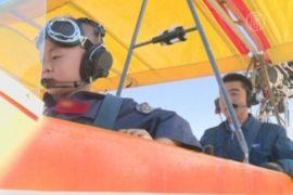 5-летний китаец самостоятельно управлял самолетом