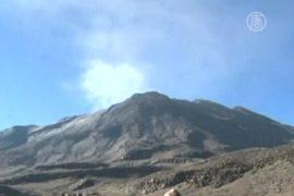 Снегопады в Перу разбудили вулкан