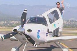 Вокруг света на самолете в 19 лет