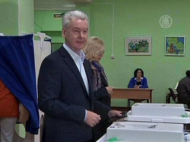 Москвичи выбрали Собянина
