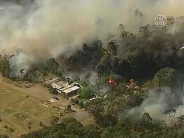 К Сиднею подбираются пожары