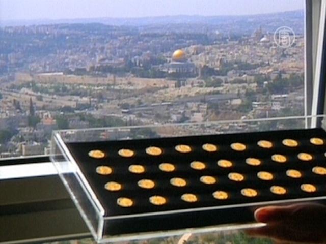 В Иерусалиме нашли уникальный клад золота