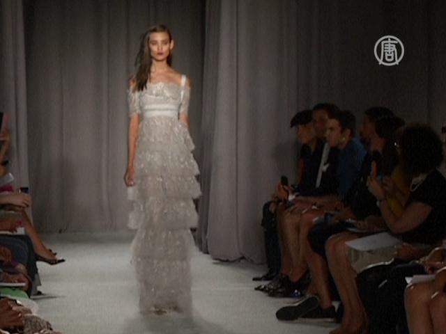 Неделя моды в Нью-Йорке: романтика от Marchesa